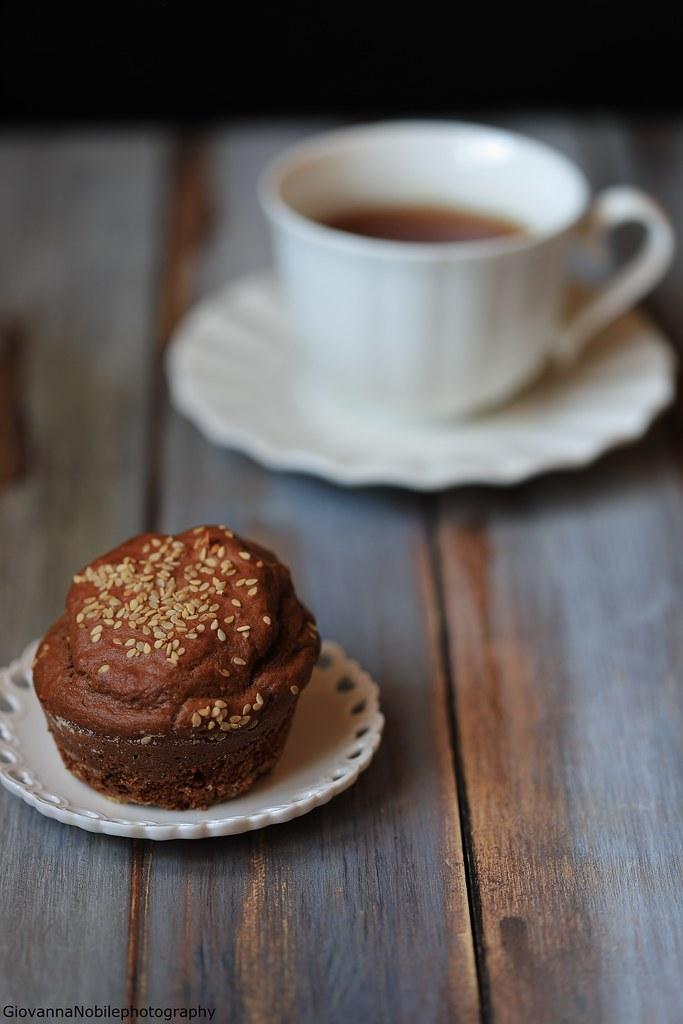 Muffin al cacao e nocciole 4