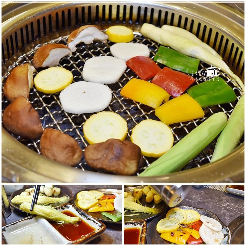 板橋燒肉吃到飽-原月日式頂級燒肉吃到飽