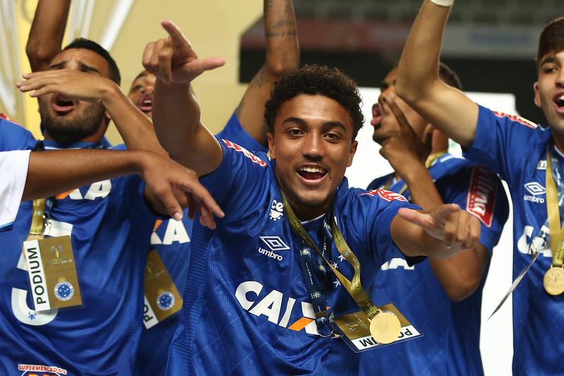 Cruzeiro campeão da Supercopa do Brasil Sub-20