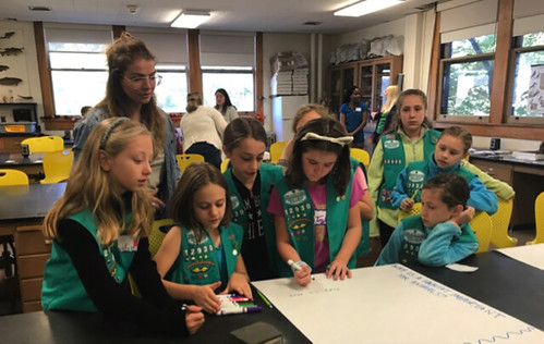 Girl Scouts Brainstorming