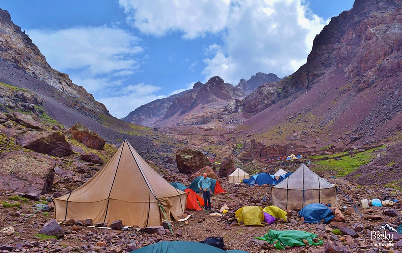 Trekking Atlas Mountains - Mt Toubkal base camp