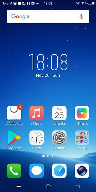 Vivo V7+ Screenshots