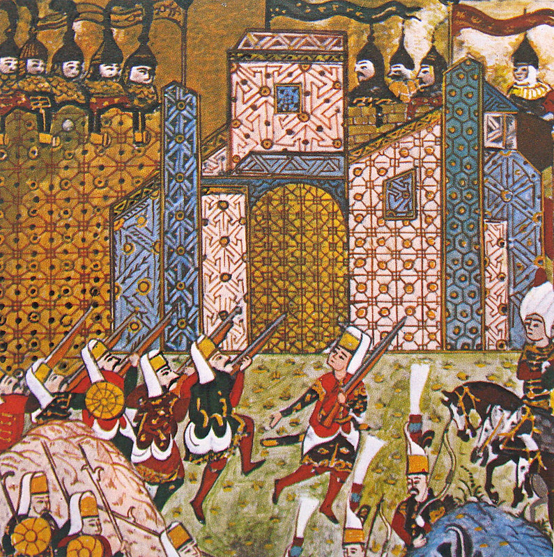Ottoman Turks and the defending Knights Hospitaller, Siege of Rhodes
