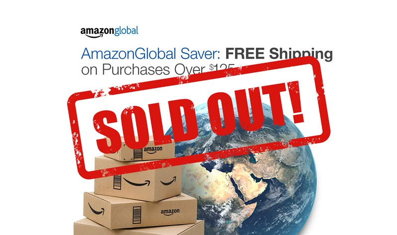 Amazon No Longer Ships For Free To Singapore