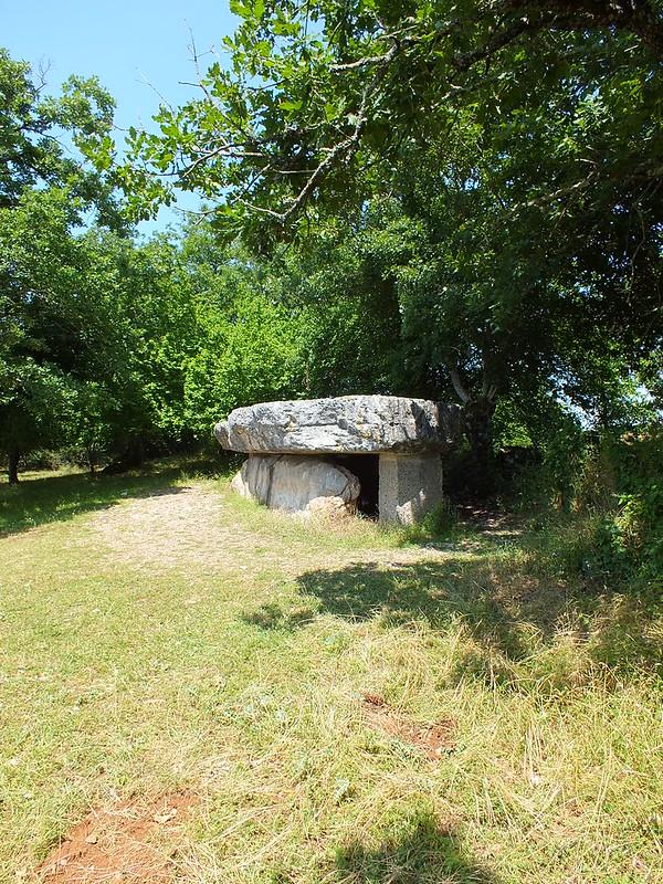 Livernon - Dolmen de la Pierre Martine
