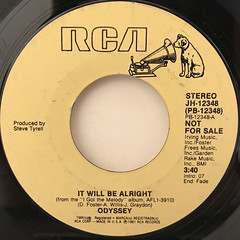 ODYSSEY:IT WILL BE ALRIGHT(LABEL SIDE-A)