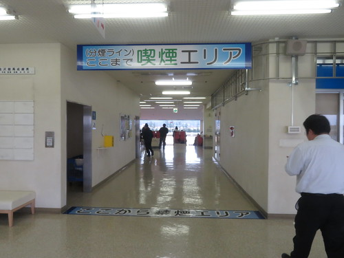 金沢競馬場の指定席エリアの分煙