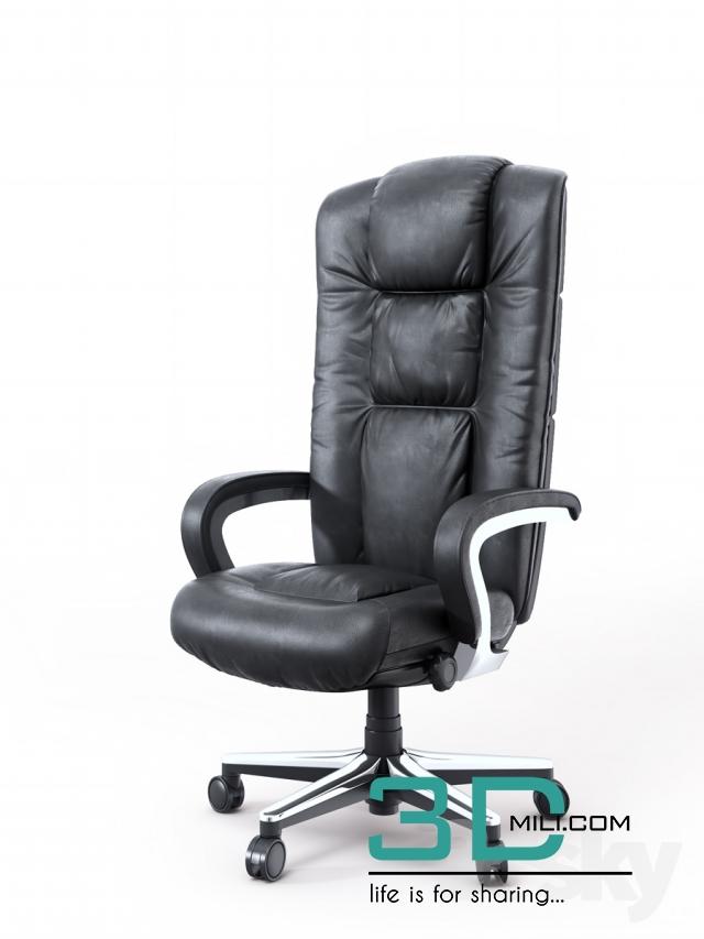228  Arm chair 3dsmax File Free Download - 3D Mili - Download 3D
