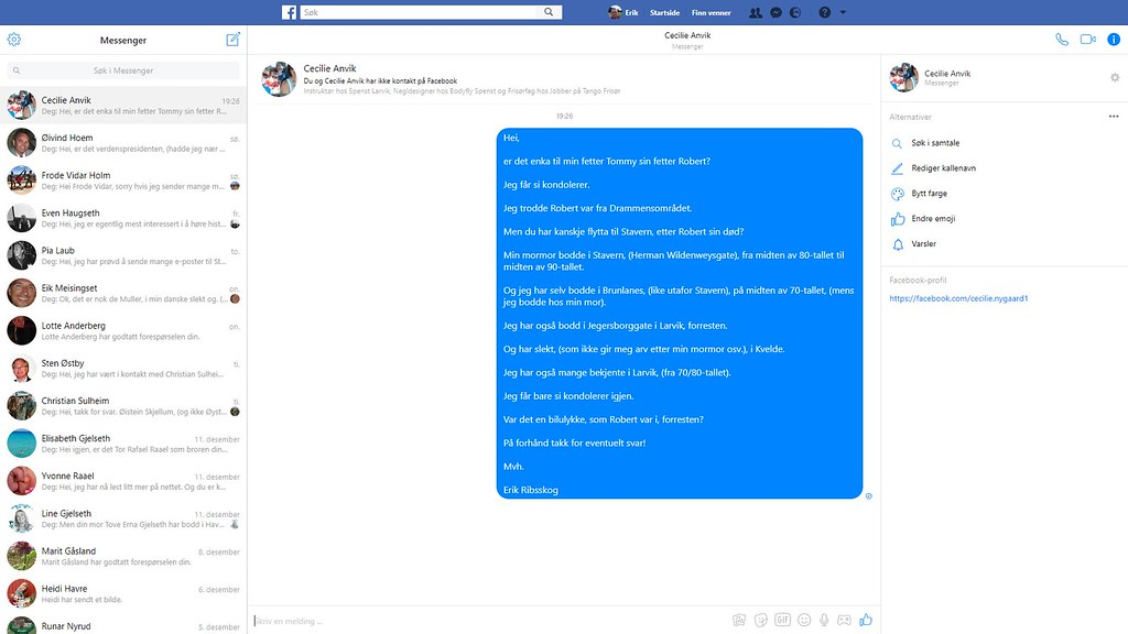 cecilie anvik facebook 2