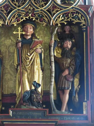 20170615 05 044 Jakobus Röns Kirche Flügelaltar Santiago
