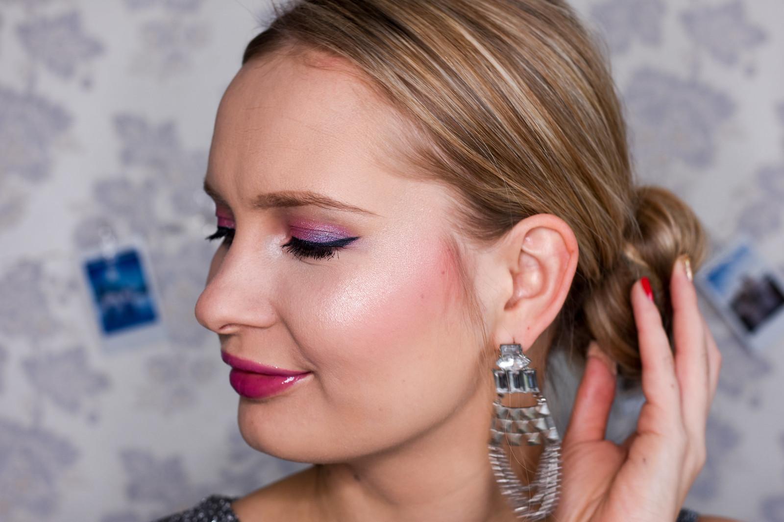 Soft and feminine makeup look