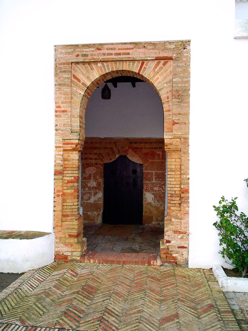 The main doorway of La Rábida