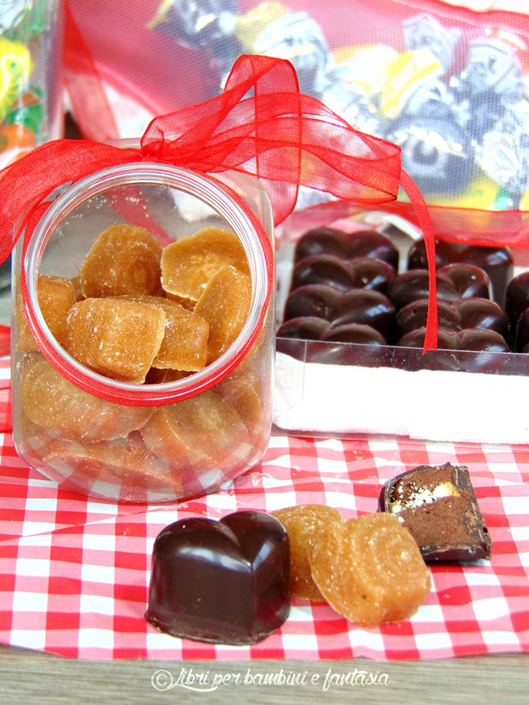 caramelle al caffè  e praline con biscotti e ganache al miele 4