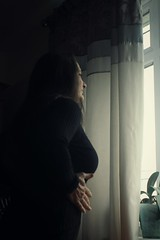 Canon EOS 60D - My wife, Lisa at the Window - 1