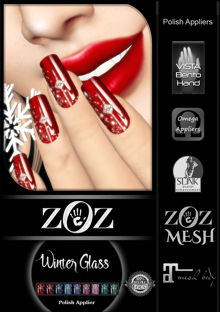 {ZOZ} Winter Glass Pix L - TeleportHub.com Live!