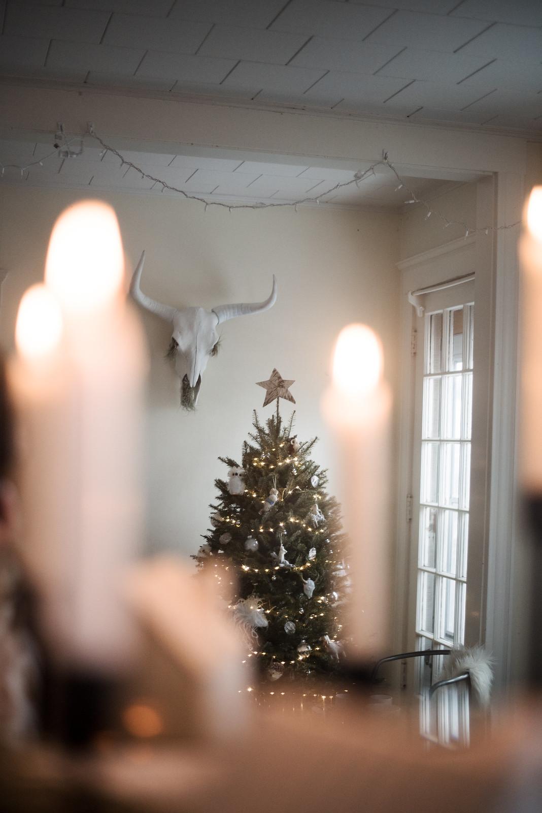 Bohemian Christmas on juliettelaura.blogspot.com