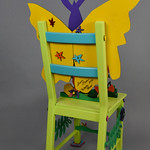 Sharon Havu; Butterfly Tramp; Item 116 - in SITu: Art Chair Auction