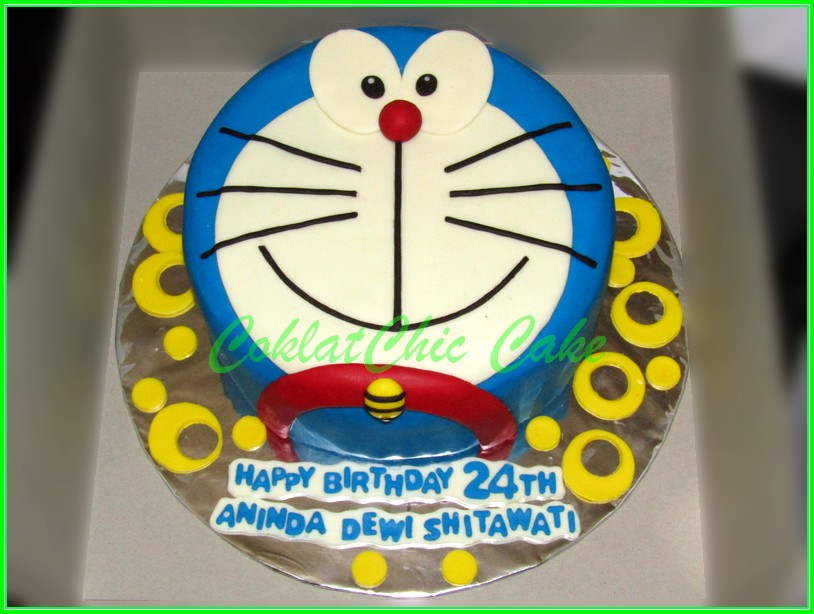 Cake Doraemon ANINDA 20cm