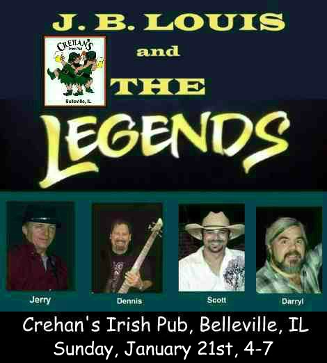 J.B. Louis and The Legends 1-21-18