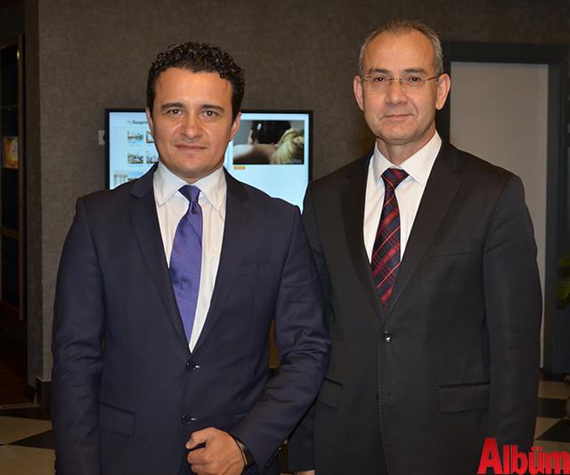Şükrü Cimrin, ALKÜ Rektörü Prof Dr. Ahmet Pınarbaşı