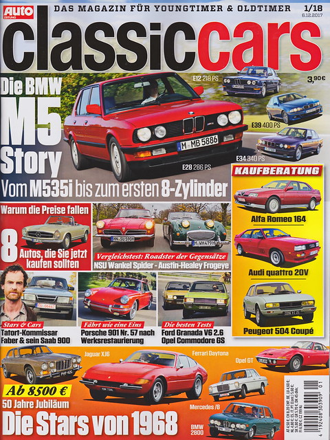 Auto Zeitung - Classic Cars 1/2018