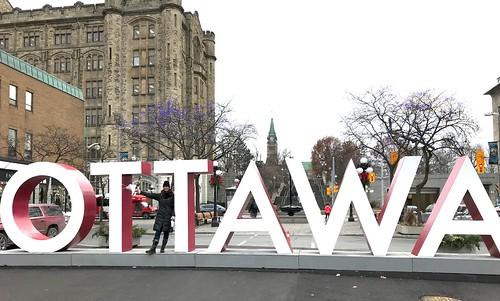 The Ottawa sign, in Ottawa!