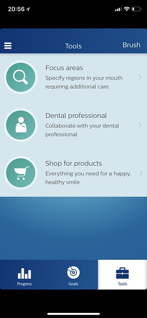 Philips Sonicare iOS App - Tools