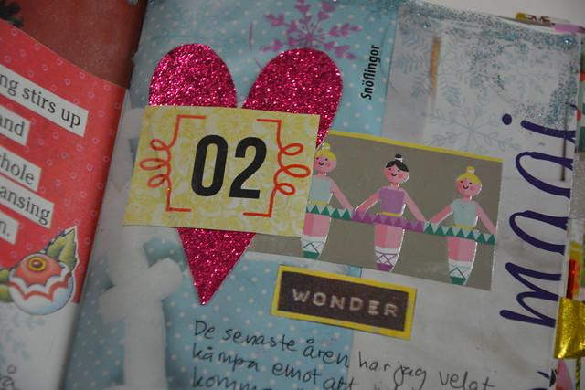 iHanna's Christmas Journal: Detail - December 2