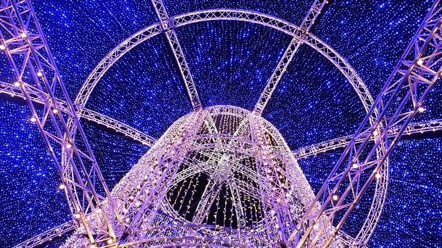 Christmas lights, George Street 02