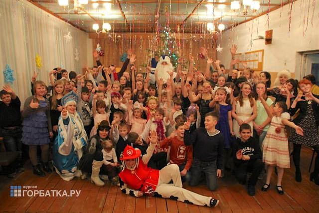 Новогодняя ёлка в Новом Быту