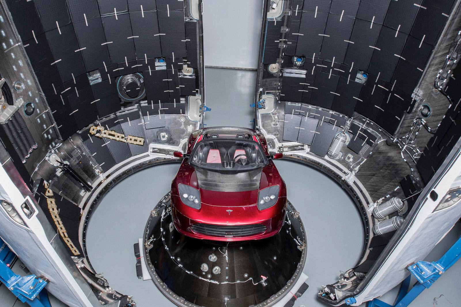 Falcon Heavy Demo Mission - Payload