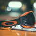 Nové Oakley Canopy Orange/herb - Dark grey sklo - fotka 2