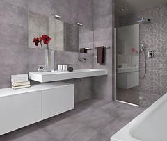 Bagno Moderno Con Vasca E Box Doccia In Muratura Floor Expo Flickr