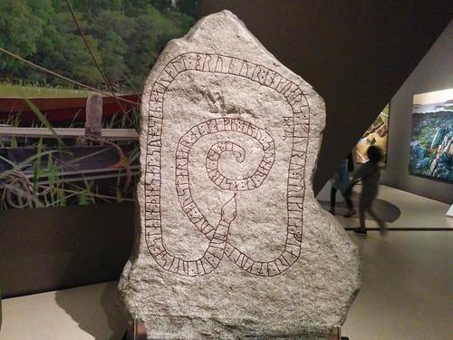 Rune stone, copy #toronto #royalontariomuseum #vikingsto #vikings #rune #runestone #sweden #latergram