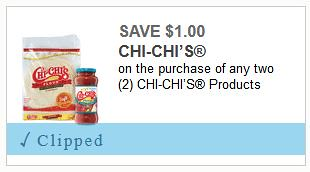 Coupon for Chi-Chi's