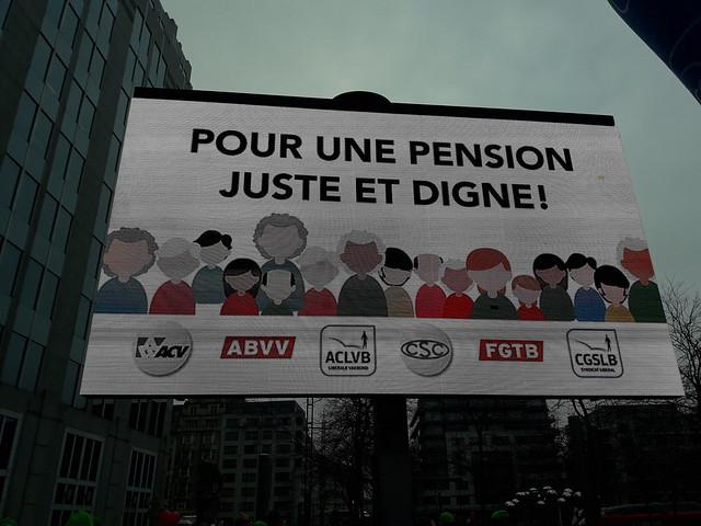 Manif pensions Bxl 19122017