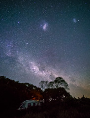 Large and Small Magellanic Clouds