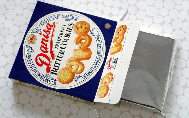 ダニサ バタークッキー やおきん デンマーク 王室レシピ うまい棒