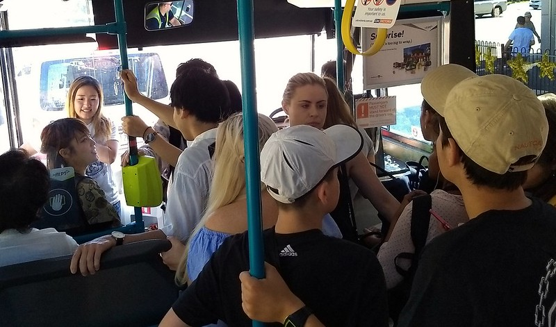 626 bus to Chadstone, Boxing Day