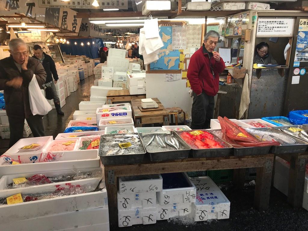 tsukiji market 201712