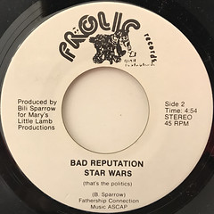 BAD REPUTATION:IS IT LIVE(LABEL SIDE-B)