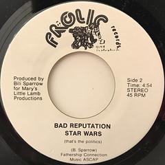 BAD REPUTATION:IS IT LIVE(LABEL SIDE-B)