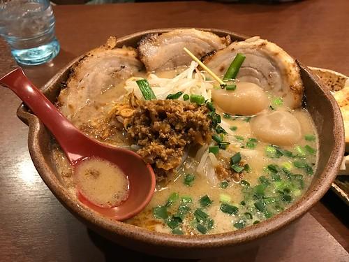 山形味噌チャーシュー麺