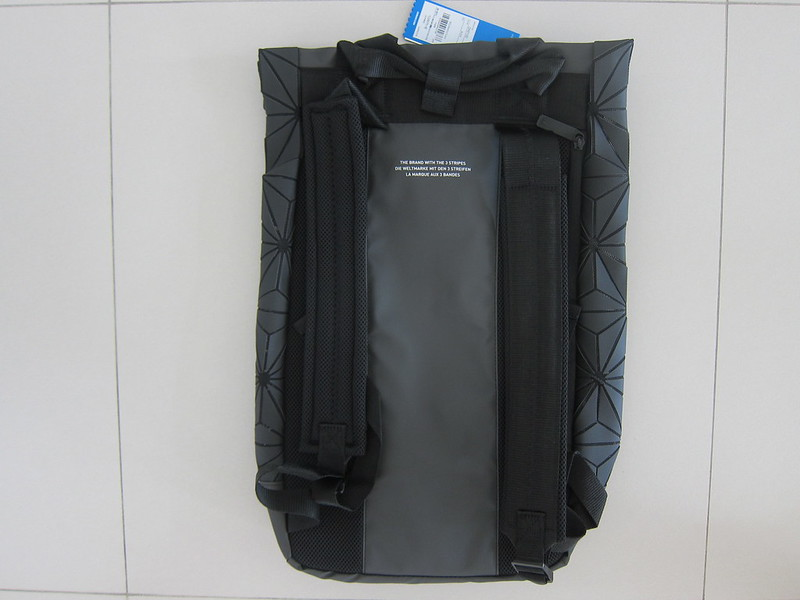 Adidas 3D Roll Top Backpack - Back