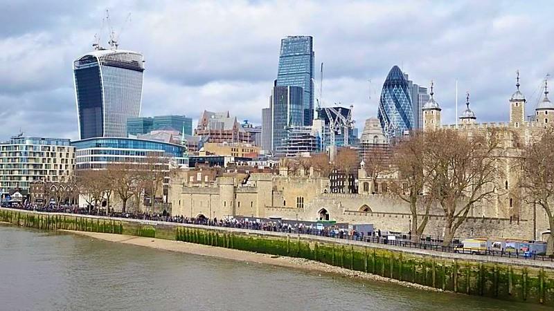 London Shard Gherkin Walkie Talkie