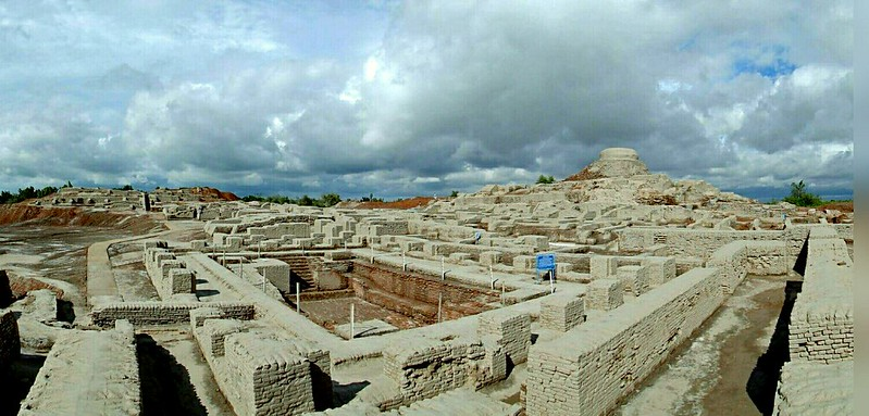 View of Mohenjo-daro