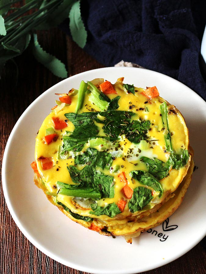 簡易免烤蔬食烘蛋 easy-no-bake-veggie-frittata_neoflam-steam-plus-pan (16)