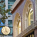 Clock on building Fourth and Market Streets in downtown San Francisco 171107-175740 C4 by Charlie Wambeke Photography