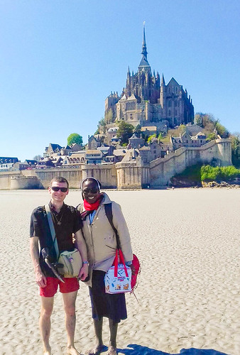 Constance Dibie SSL travelled with fellow students on a pilgrimage to Mont-Saint-Michel, France in 2017
