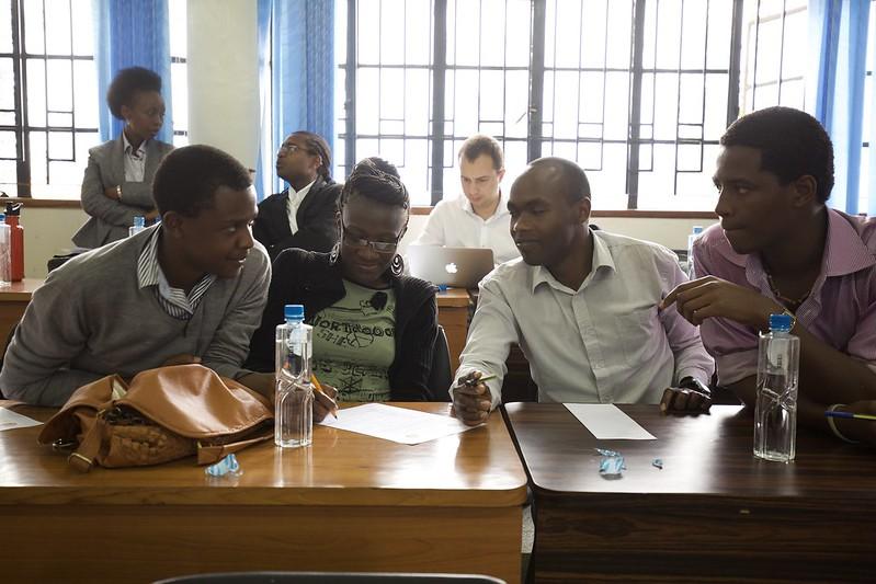Nairobi Aug 2014 - African Nazarene University Debate